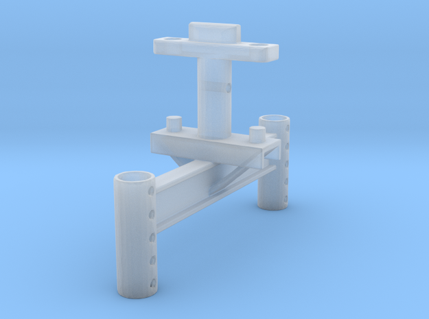 Monorail H Stand in Smooth Fine Detail Plastic: 1:24