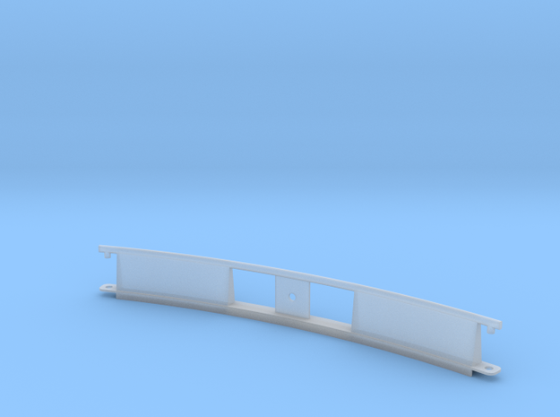 Monorail Curved Rail Gen 2 in Smooth Fine Detail Plastic: 1:24
