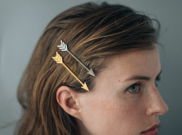 Arrow Bobby Pin