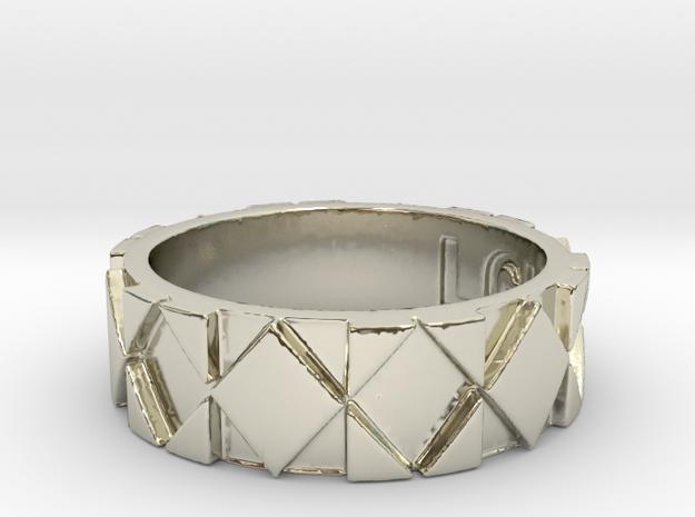 Futuristic Rhombus Ring Size 6