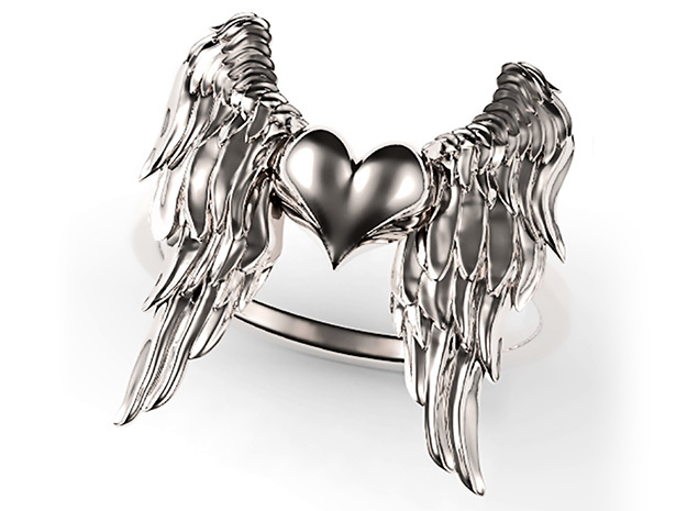Ring Of The Angelic Heart