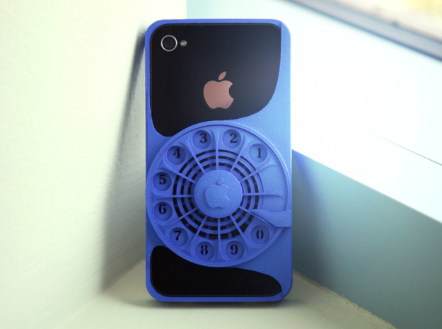 Rotary Phone Case for iPhone 4 / 4s 3d printed