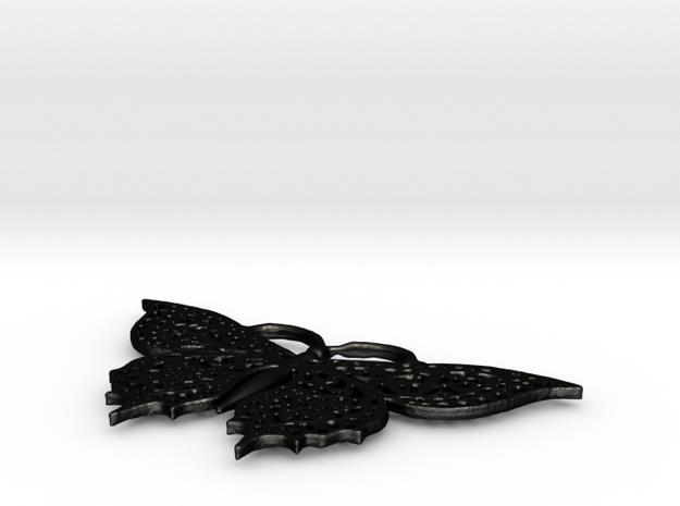 Schmetterling Devaranne in Matte Black Steel