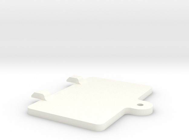 S99-S01 Lid for Scalextric Digital chip bay in White Strong & Flexible Polished