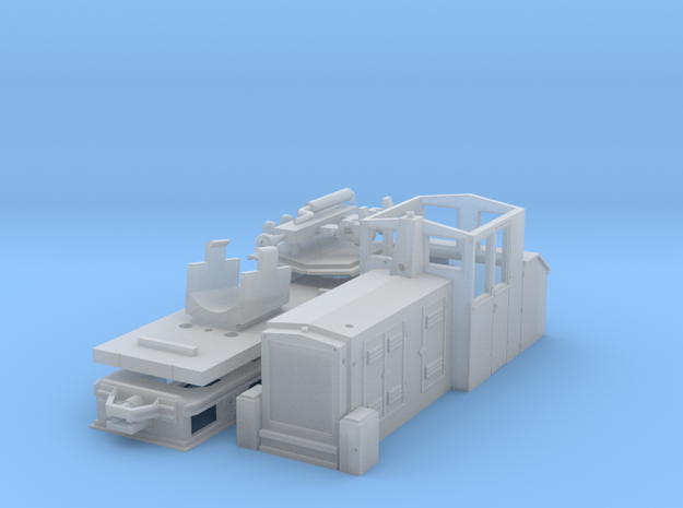 ZB - Gebus D7 - H0e Hon30 3d printed