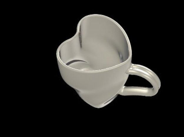Heart Cup 3d printed