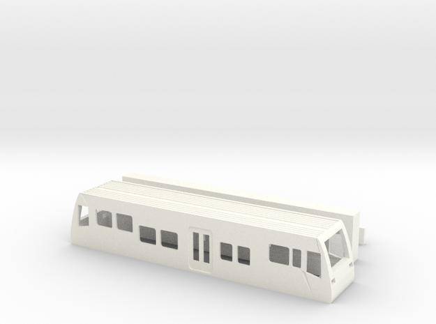 Burgenlandbahn TT1/120 1-120 1:120  Standmodell V2 in White Processed Versatile Plastic