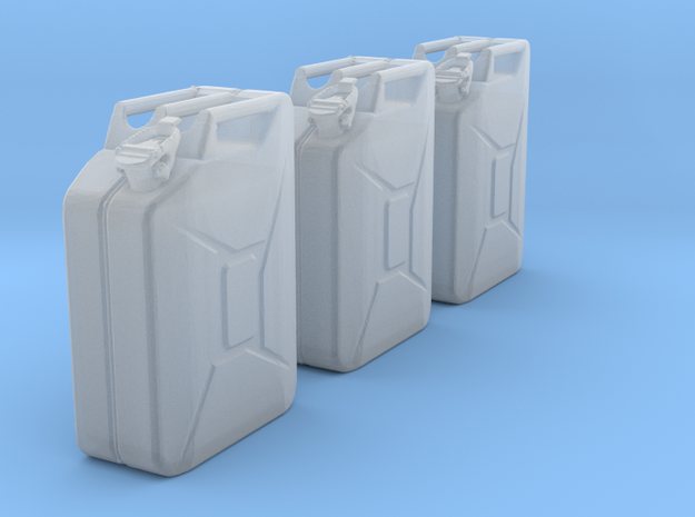 1:25 Kanister jerry can fuel can 20 Ltr. in Smooth Fine Detail Plastic