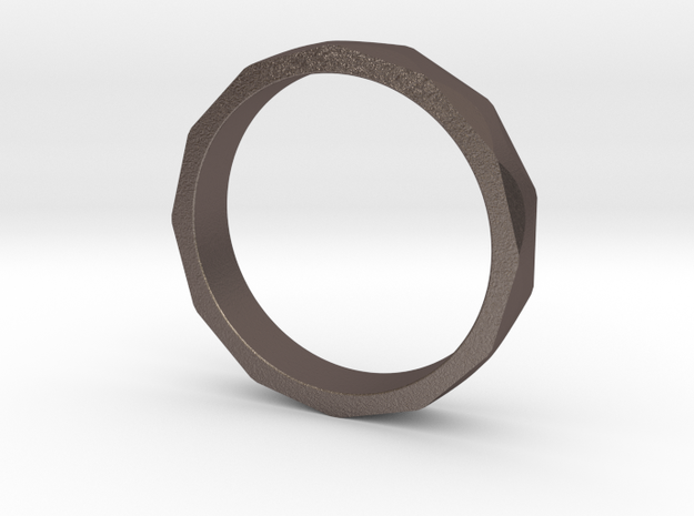 Iron Ring Size 4 in Stainless Steel