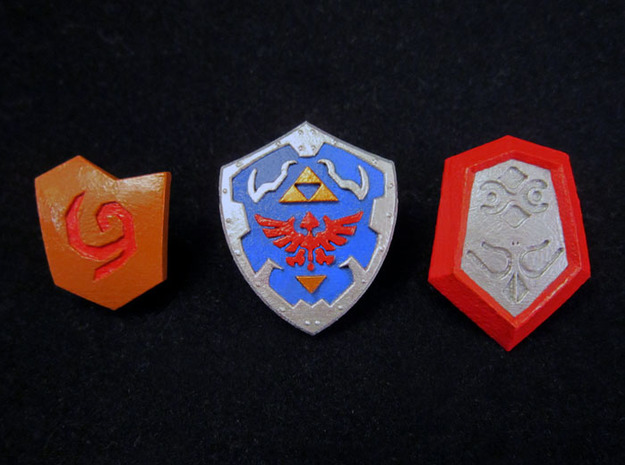 Time Shield Pack in Smooth Fine Detail Plastic