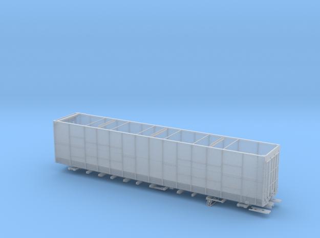 BN 586850-586999 lot17433 Woodchip Gondola HO in Smooth Fine Detail Plastic