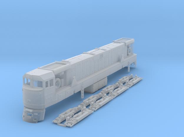 TT Scale U50 in Smooth Fine Detail Plastic