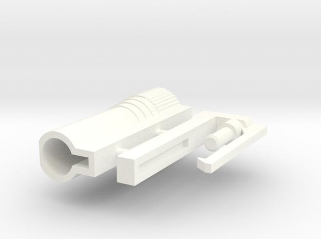 Transformers G2 european launcher. in White Processed Versatile Plastic