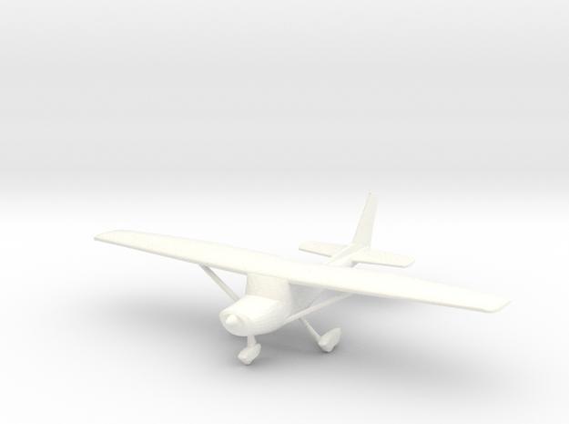Cessna 152 in 1/96 Scale in White Processed Versatile Plastic
