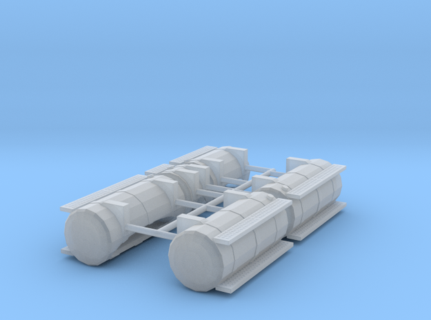 1/50th Australian Road Train Fuel Tank set