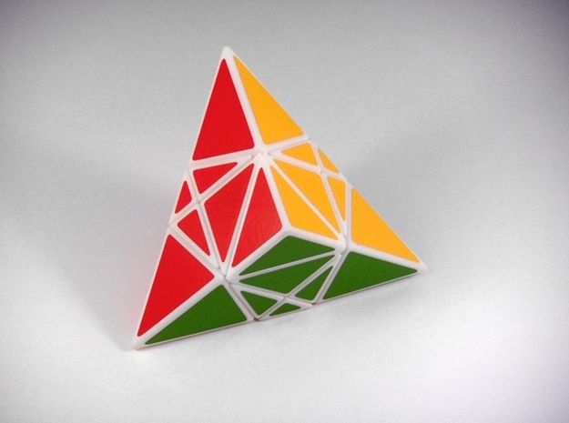 Shallower Madness Puzzle 3d printed Solved