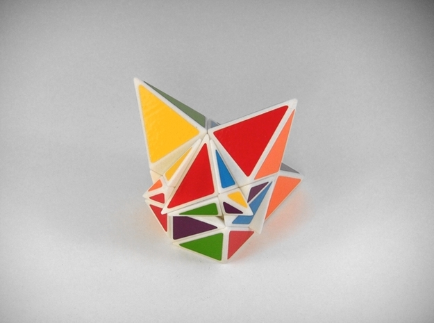 Shallower Madness Puzzle 3d printed Really Scrambled