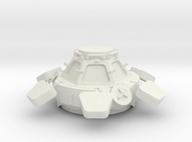 ISS Cupola Replica 1/25 in White Natural Versatile Plastic