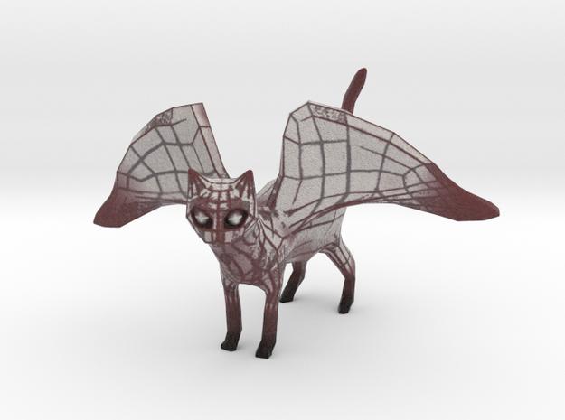 Flying Tron Kitten in Full Color Sandstone