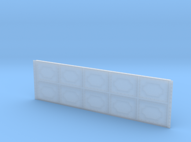 MR Water Tower End 5 x 2 Panels in Smooth Fine Detail Plastic
