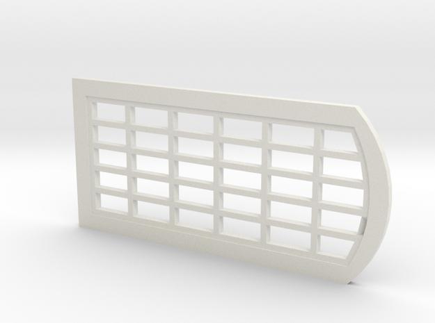 MR 5 x 6 Pane Water Tower Windows in White Natural Versatile Plastic