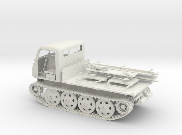 German WW2 Raupenschlepper RSO/01 1:18 scale 3d printed