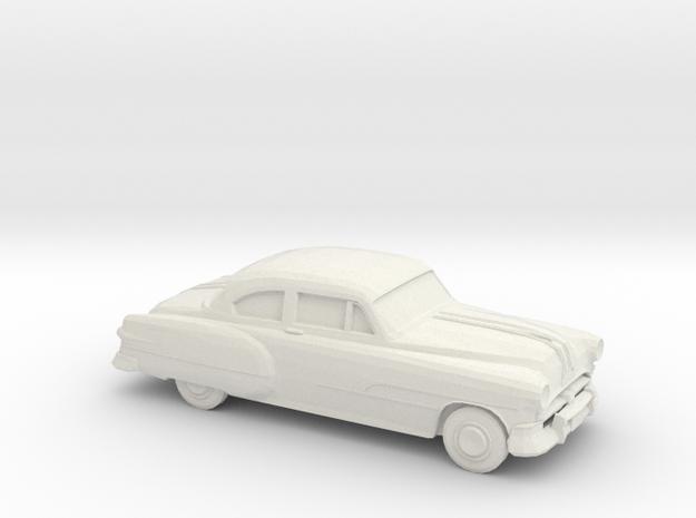1/75 1951 Pontiac Chieftan Coupe in White Natural Versatile Plastic
