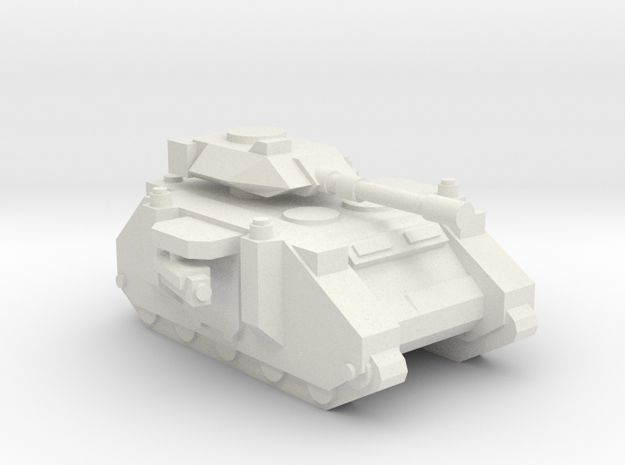 [5] Marine Medium Tank (Autocannon) in White Natural Versatile Plastic