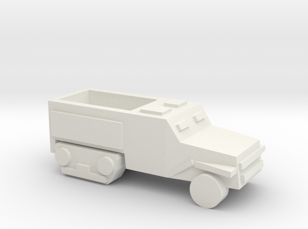 [5] Half-Track in White Natural Versatile Plastic