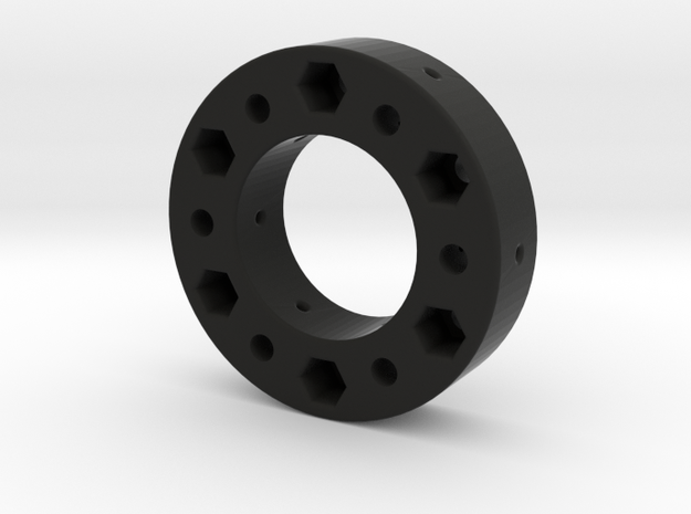 Fanatec 52mm To 70 mm Adapter 17mm Thick in Black Natural Versatile Plastic