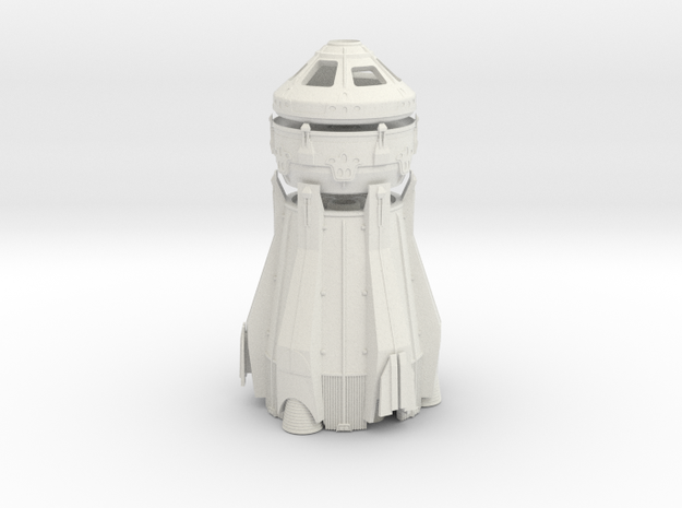 1/200 NASA/JPL ARES MARS ASCENT CONVERTIBLE in White Natural Versatile Plastic
