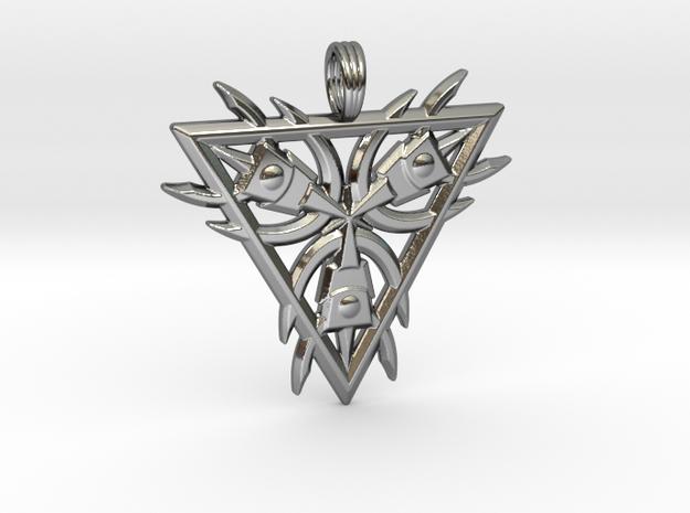 SUNSTAR MAGNET in Premium Silver