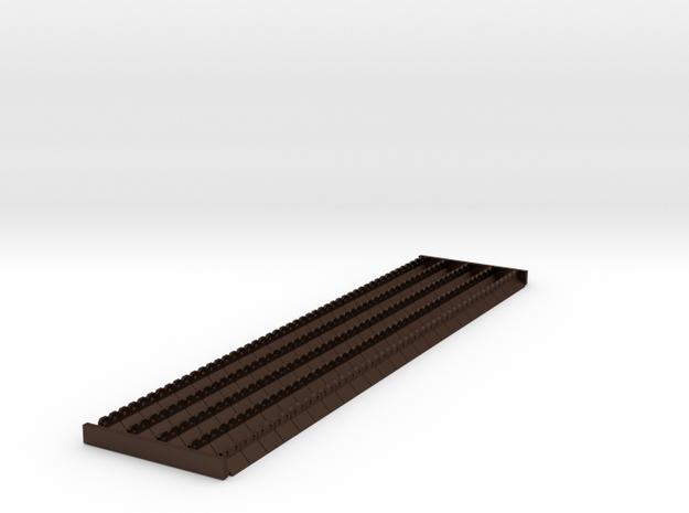 4mm scale Ridge Tiles 45 degree 3d printed