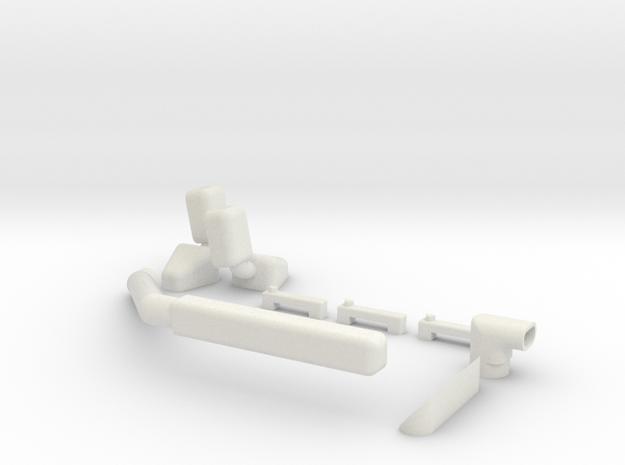 Ascender K5 Kit in White Natural Versatile Plastic