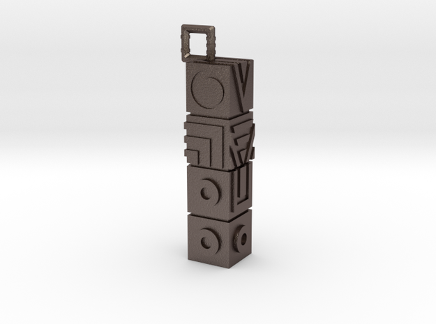 Monument Valley Totem Keychain