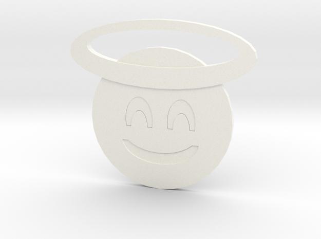 Angel in White Processed Versatile Plastic