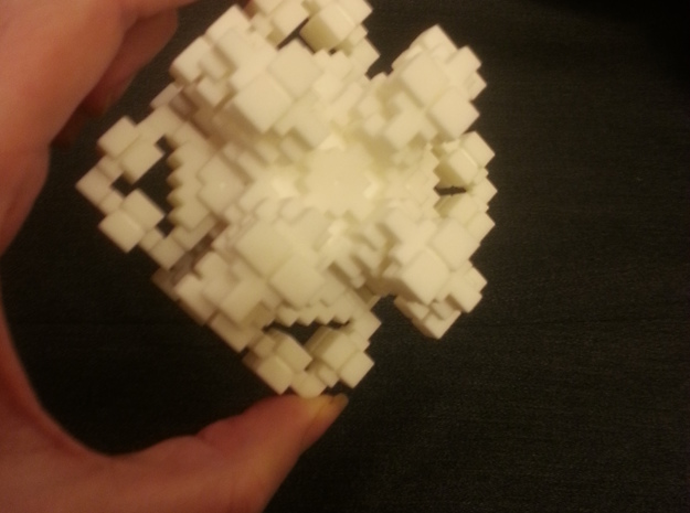 Crystal-like Cubic Complex 3d printed