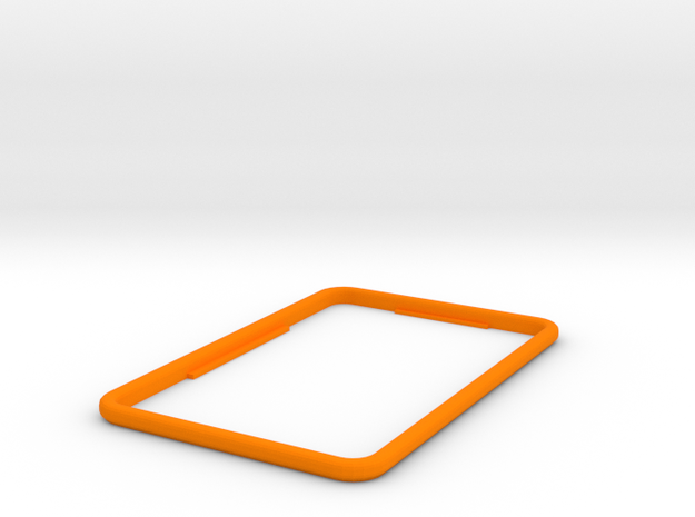 Replacement bezel for Fridge Optimizer in Orange Strong & Flexible Polished