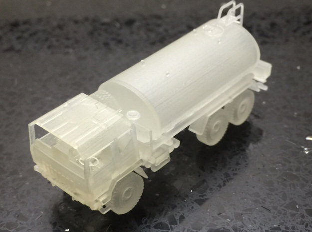 IVECO M-250 40W-CISTERNA-H0-proto-02 in Smooth Fine Detail Plastic