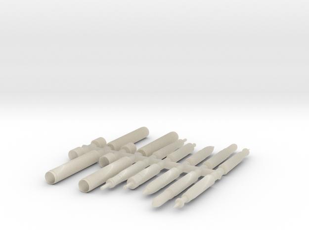 SET-Proyectiles+Fundas-blister-105-H0-proto-01 in White Acrylic