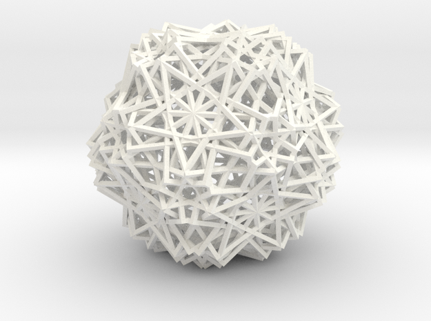 Cube 30 Compound -wireframe