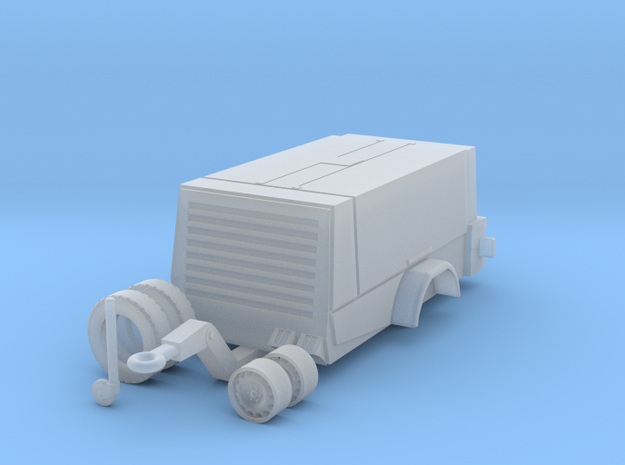 1:50 fahrbarer Baukompressor in Smooth Fine Detail Plastic