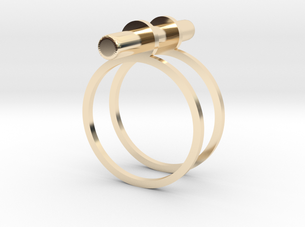 Cerc - Size 6 US in 14K Yellow Gold
