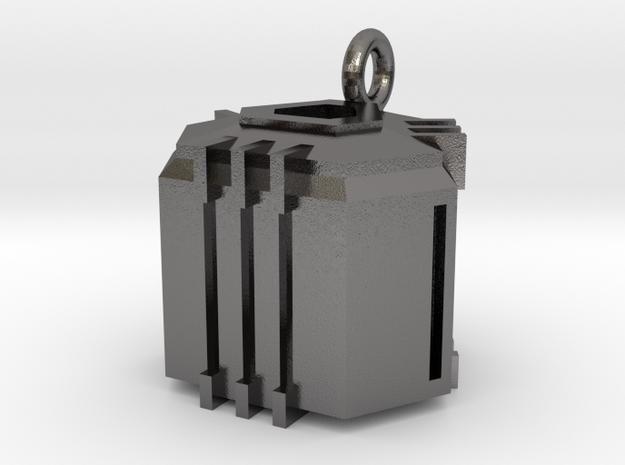 Ingresss Capsule  Pendant in Polished Nickel Steel
