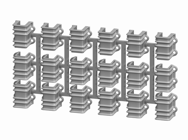 On3 D&RGW 6200 Stake Pockets, set of 18 3d printed