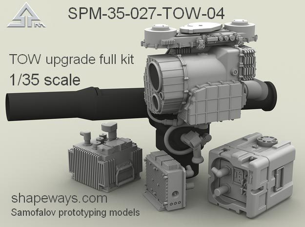 1/35 SPM-35-027-TOW-04 TOW upgrade full kit in Smoothest Fine Detail Plastic