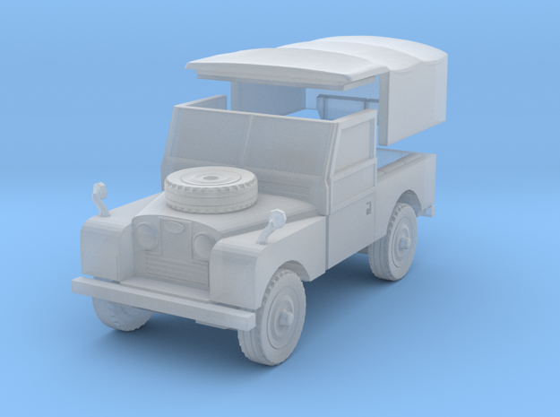 Land Rover Series 1 1:160 in Smoothest Fine Detail Plastic