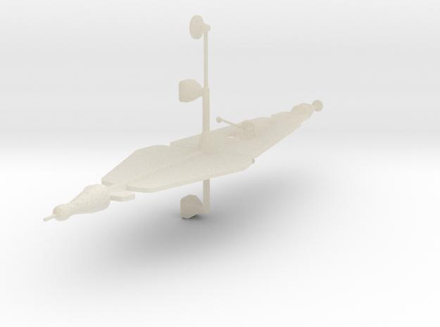 Ion Spaceship 3d printed