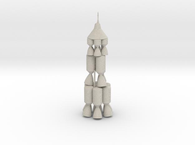 JPL NOVA Moon Rocket 3d printed