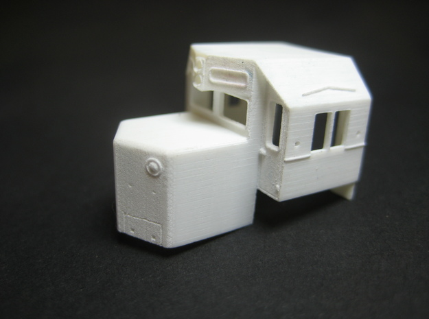 Reading N Scale SD45 Cab And Hood 3d printed